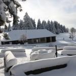 Hütte Winter